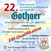 22. Pokal der Gothaer Versicherungen (EM-Quali)