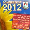 Sommerfest Abteilung Schwimmen 2012