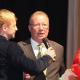 Geehrt: Bernd Henneberg auf dem 20. Ball des Sports des LSB Sachsen-Anhalt