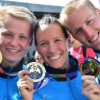 Deutsches Freiwassertrio gewinnt WM-Gold