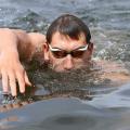 Herwig schwimmt zu Gold