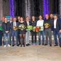 Hentke, Oelze und SCM in Magdeburg geehrt
