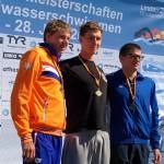 Marcus Herwig holt Gold über 5km im Jahrgang 96 Foto : Verein