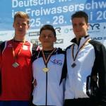 Zweiter bei den Junioren : Florian Wellbrock (10km) Foto : Verein