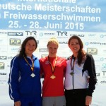 Siegerin Finnia Wunram (10km) Foto : Verein